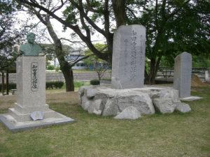 顕彰碑、胸像、文学碑