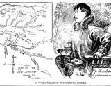 フェアバンクスでの金鉱発見を伝える重次郎「ユーコン・サン紙」