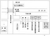 顕彰碑の地図