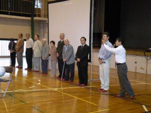 舟津圭三氏を招いての内子小学校での自然学校